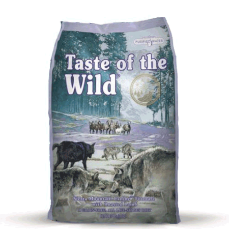 TASTE OF THE WILD – Sierra Mountain Canine Formula