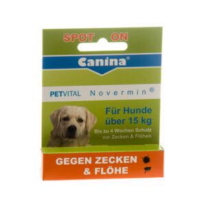 Canina Petvital Novermin spot-on za velike pse