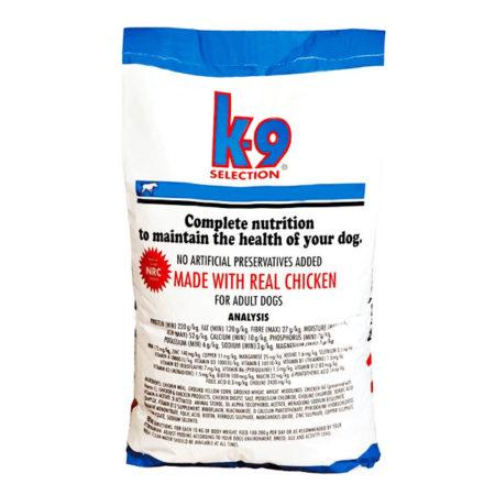 K9 Maintenance Formula - hrana za odrasle normalno aktivne pse