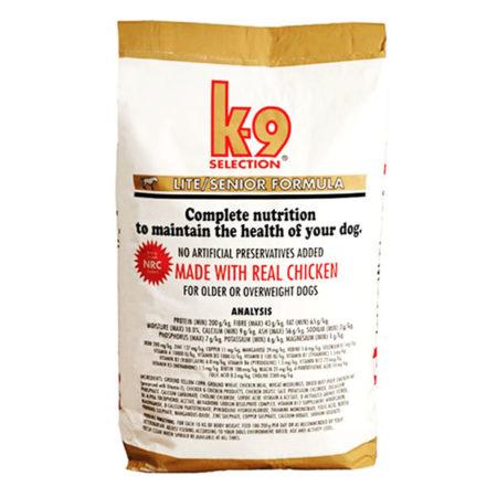 K9 Lite/Senior Formula - hrana za starije i pretile pse