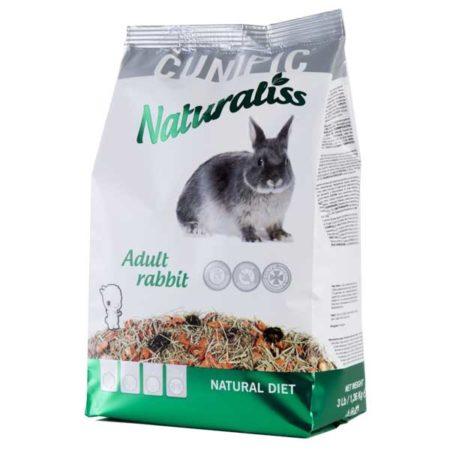 CUNIPIC Naturaliss Rabbit, hrana za kuniće, 1,36kg