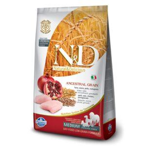 LOW GRAIN CHICKEN & POMEGRANATE - ADULT MEDIUM - hrana za odrasle pse srednjih pasmina