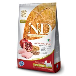 LOW GRAIN CHICKEN & POMEGRANATE - ADULT MINI - hrana za odrasle pse malih pasmina