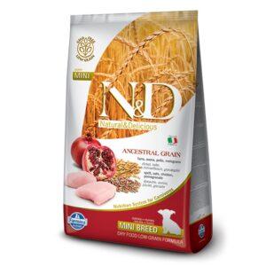 LOW GRAIN CHICKEN & POMEGRANATE - PUPPY MINI - hrana za štenad malih pasmina