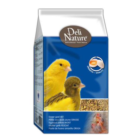 DELI NATURE Eggfood Yellow Wet - žuta vlažna jajčana hrana 10kg