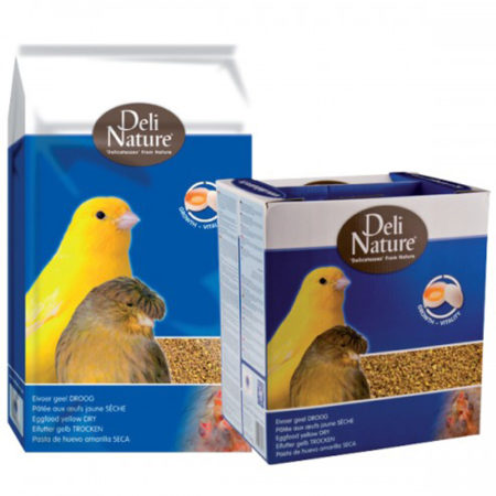 DELI NATURE Eggfood Yellow Dry - suha žuta jajčana hrana 10kg