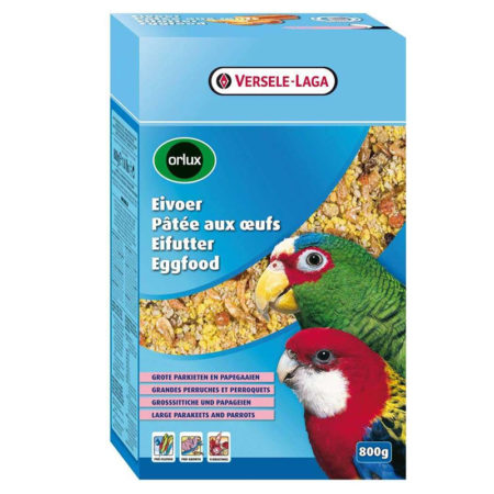 ORLUX EGGFOOD DRY FOR PARROTS AND LARGE PARAKEETS – hrana za velike i srednje papige