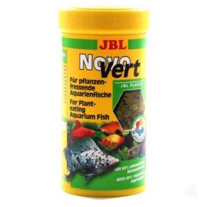 JBL NovoVert - hrana u listićima spirulina sa sadržajem planktona 250ml