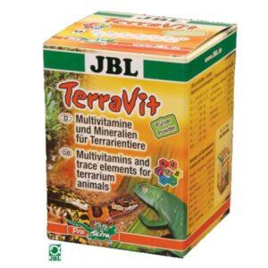 JBL TERRAVIT POWDER - vitamini i minerali za kornjače i reptile 100g