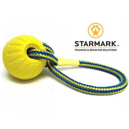 STARMARK Fetch Ball – tvrda lopta na uzici