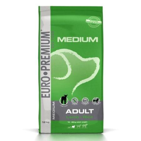 EURO PREMIUM MEDIUM ADULT ( 25 / 14 ) - janjetina i riža za odrasle pse srednjih pasmina