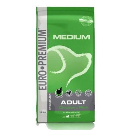 EURO PREMIUM MEDIUM ADULT ( 26 / 16 ) - piletina i riža za odrasle pse srednjih pasmina