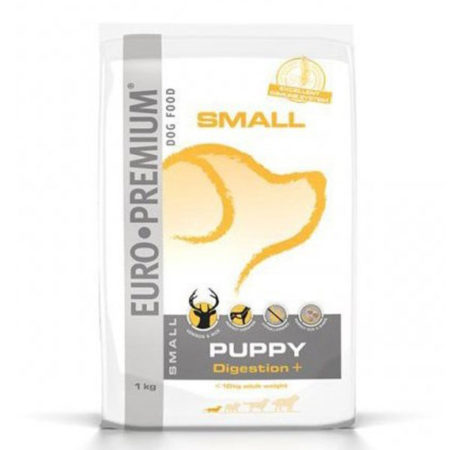 EURO PREMIUM SMALL PUPPY DIGESTION + - ( 30 / 20 ) - divljač i riža 1 kg