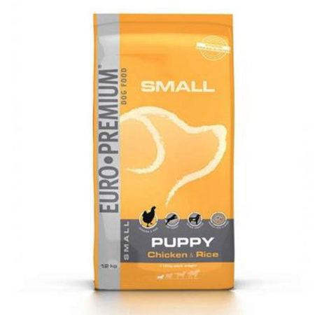EURO PREMIUM SMALL PUPPY ( 30 / 20 ) - piletina i riža za štence malih pasmina