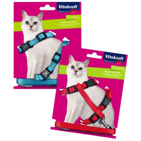 VITAKRAFT VODILICA + HAM za mačke 22 - 42 cm
