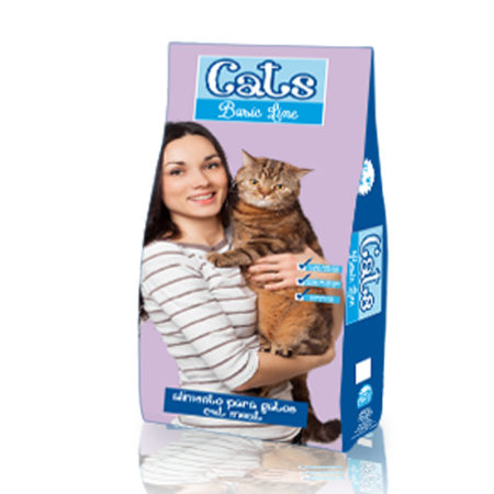 CATS BASIC LINE - hrana za odrasle mačke