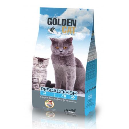 GOLDEN CAT - riba - hrana za odrasle mačke s ribom