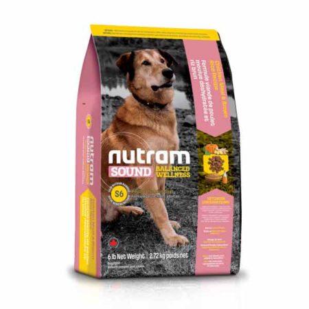 S6 Nutram Sound Balanced Wellness®  - za odrasle pse ( piletina i smeđa riža )