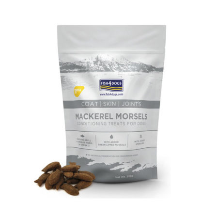 Fish4Dogs Mackerel Morsels Coat/Skin/Joints 225g