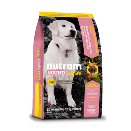 S10 Nutram Sound Balanced Wellness®- za starije pse - 2,72 kg