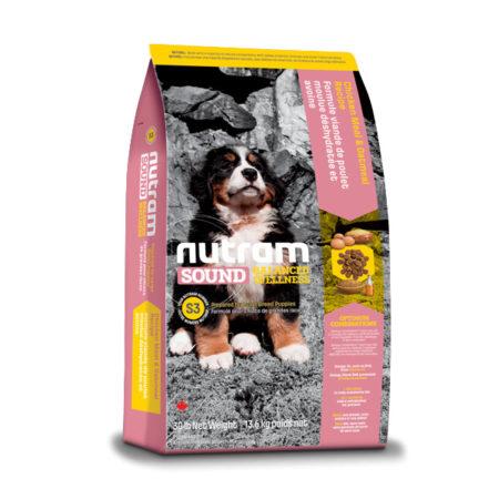 S3 Nutram Sound Balanced Wellness®- za štenad velikih pasmina pasa