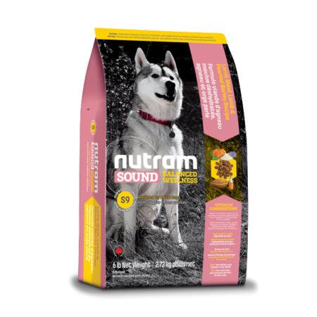 S9 Nutram Sound Balanced Wellness® - za odrasle pse od janjetine