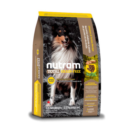 T23 Nutram Total Grain-Free® - Piletina, puretina i patka bez žitarica i krumpira