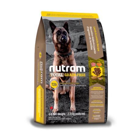 T26 Nutram Total Grain-Free® - janjetina i leća
