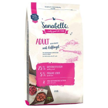 Sanabelle Adult sa svježom peradi 10 kg