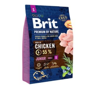 Brit Premium by Nature JUNIOR Small Breed 3kg
