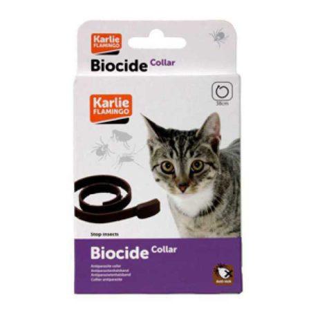 BIOCIDE CAT COLLAR 35 cm - ogrlica protiv buha i krpelja