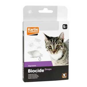 BIOCIDE CAT Drops 5 kom - ampule protiv buha i krpelja