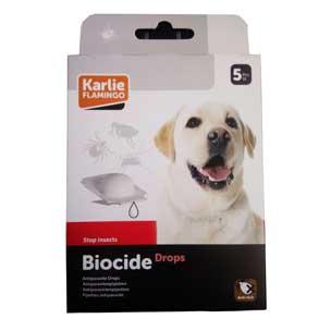 BIOCIDE DOG Drops 5 kom - ampule protiv buha i krpelja