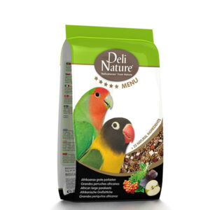 Deli Nature 5* Menu African Large Parakeets