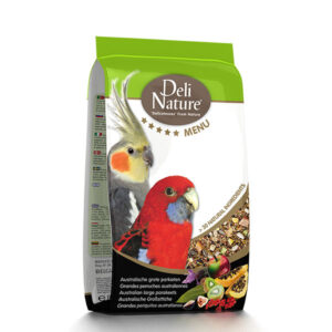 Deli Nature 5* Menu Australian Large Parakeets