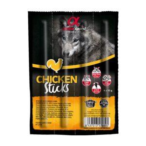 Alpha Spirit Ristra Stick Piletina - poslastice za pse