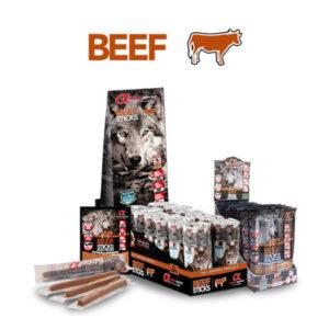 Alpha Spirit štapići govedina 30 x 10 g