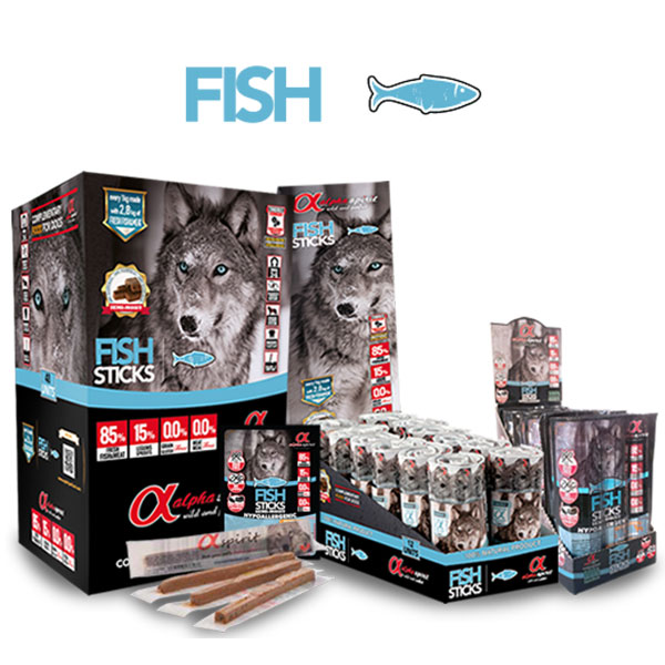 Alpha Spirit štapići riba 30 x 10 g