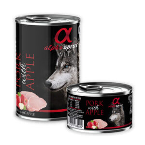 Alpha Spirit Svinjetina i jabuka 6 x 400 g