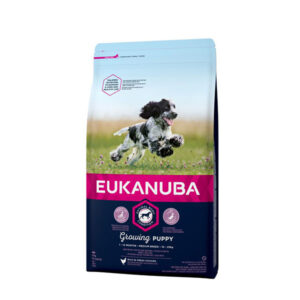 Eukanuba Growing Puppy Medium Breed 12kg