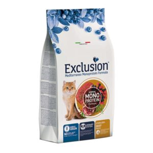 Exclusion Mediterraneo Sterilised Govedina 1,5 kg