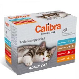 Calibra Cat Premium vrećice za odrasle Multipack 12x100g