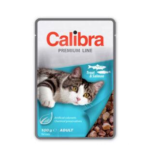 Calibra Cat Premium Adult Pastrva i Losos 6x100g