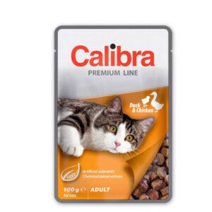Calibra Cat Premium Adult Patka i Piletina 6x100g