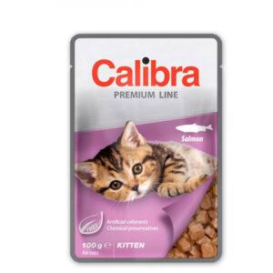Calibra Cat Premium Kitten Losos 6x100g