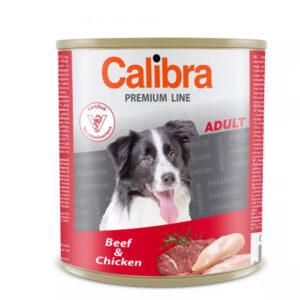 Calibra Dog Premium Adult Govedina i Piletina 3x800g