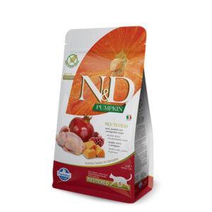 N&D Pumpkin feline Quail 300g