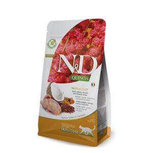 N&D Quinoa feline Skin & Coat Quail 300g