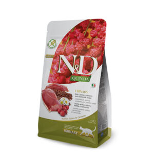 N&D Quinoa feline Urinary Duck 300g