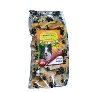 Hobby Dog Biscuits Premium Color Bones 500g